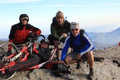 Karina zdobyła na handbike'u szczyt Pico Del Veleta