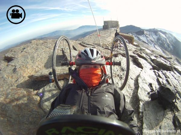 Film z wyprawy Kariny na Pico del Veleta